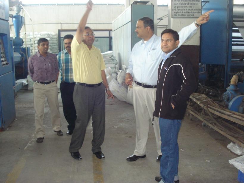 Visit to PLASTENE INDIA LTD
